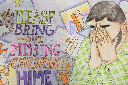 Queens Student Wins State's Poster Contest