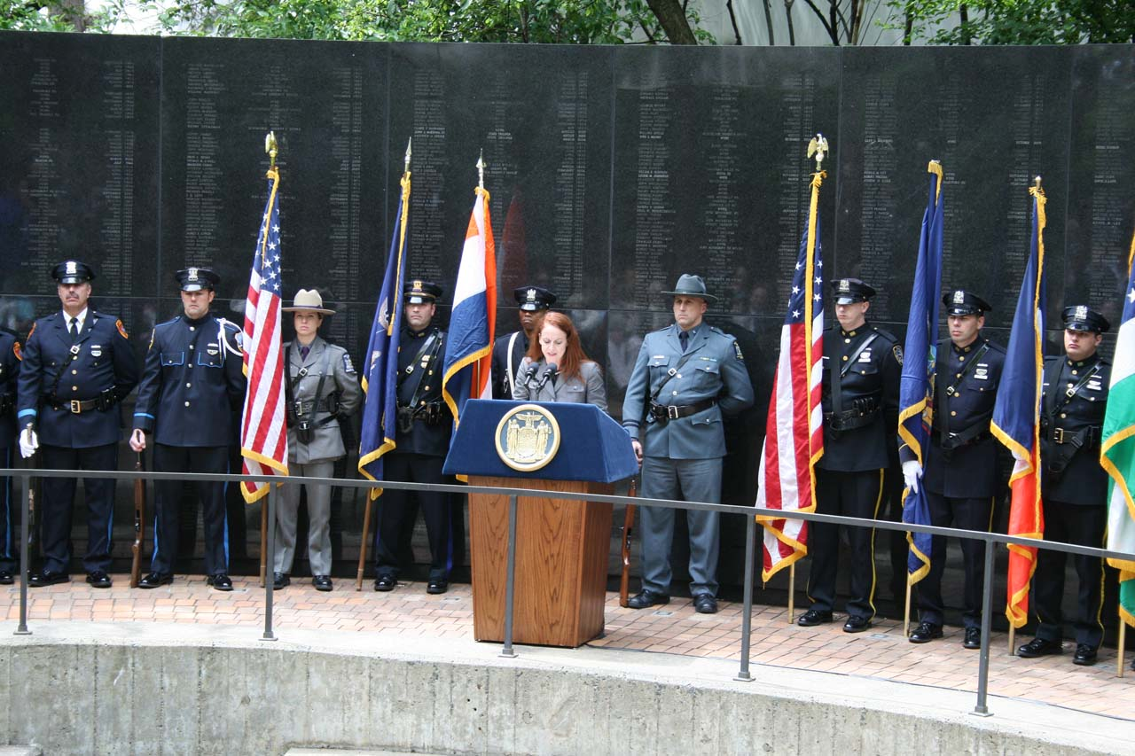 Police Officers' Memorial Fact Sheet - NY DCJS