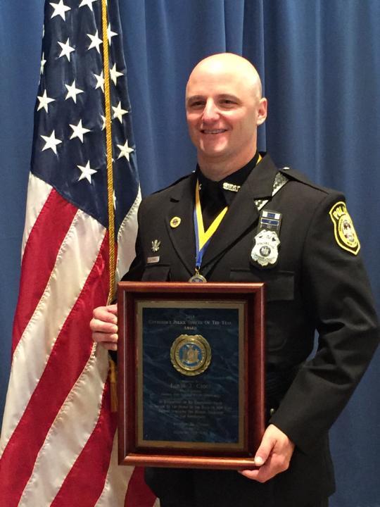 governor cuomo recognizes johnson city patrolman as new