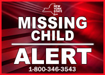Nys Missing Child College Student Alert